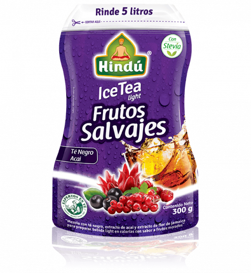 Ice tea frutos salvajes | Té Hindú